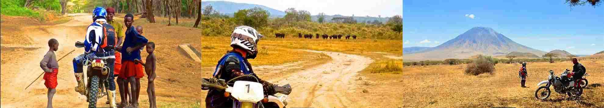 Moto safari authentique en tanzanie