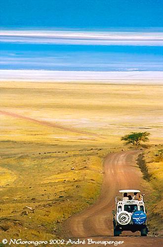 Cratère du N'Gorongoro Safari éco-solidaire en Tanzanie