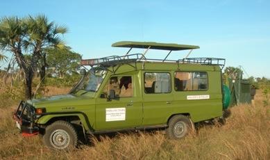 véhicule 4x4 de safari en Tanzanie