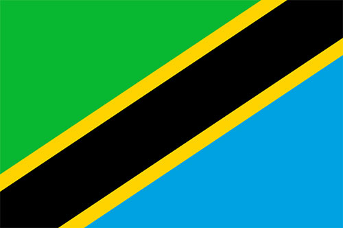 drapeau de Tanzanie présentation en bref