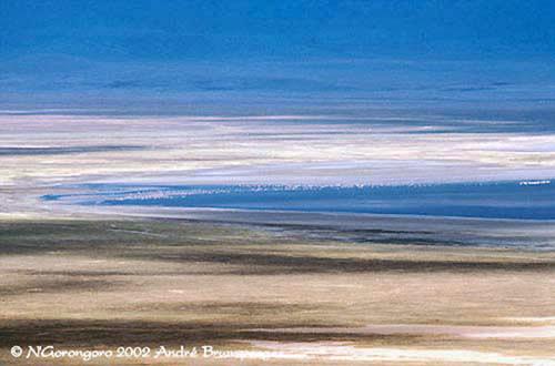 Cratère du N'Gorongoro safari éco-solidaire de Tanzanie